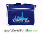 Do You Want to Build a Meth Lab? Breaking Bad Walter White  Messenger Bag - Blue