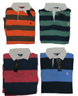 Ralph Lauren Mens Custom Fit Pony Logo Long Sleeve Polo Rugby Shirt Sweater New