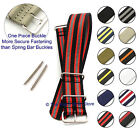Nylon Military/Diver Watch Strap/Band with Spring Bars - MoD/G10/NATO Design