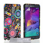 Yousave Accessories Samsung Galaxy Note 4 Floral Design Silicone Gel Case Cover