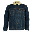 Mens Levis Good Sherpa Chattanooga Trucker Jacket