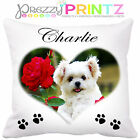 PERSONALISED PET CUSHION GIFT DOGS CATS ANY PHOTO TEXT CHRISTMAS BIRTHDAY GIFT🐾