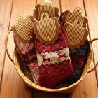 2X Women Winter Sock Christmas Gift Warm Wool Socks Novelty Cute Snowflake Deer