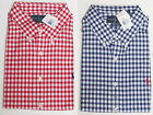 Polo Ralph Lauren Mens Pony Logo Custom Fit Slim Gingham Sport Dress Shirt New