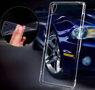 Ultra Thin Clear Soft TPU Case Cover Skin + Tempered Glass For Sony Phones
