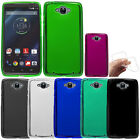 For Motorola Droid Turbo XT1254 TPU SILICONE Rubber Flexi Slim Back Case Cover