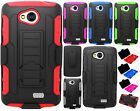 Virgin Mobile LG Tribute LS660 Belt Clip Holster Cover KickStand + Screen Guard