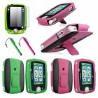PU Leather Stand Case Cover Protective Skin+Film+Stylus for Leapfrog LeapPad 3