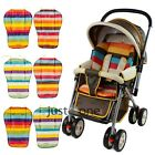 Baby Care Stroller Cushion Striped Pad Pram Car Seat Cushion General Cotton Mat