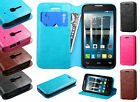 T-Mobile Alcatel ONETOUCH Evolve 2 Premium Wallet Case Pouch Flap STAND Cover