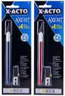 X-ACTO Axent #1 Knife Choose Your Color Blue or Red #11 Blade with Safety Cap
