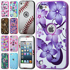 For iPod Touch 5 5th Gen  IMPACT Verge HYBRID Case Skin Phone Cover Accessory