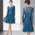 FREE SHIP Mother Of Bride/Groom Wedding Evening Dress+Outfit 8 10 12 14 16 18+
