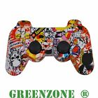 Custom PS3 Controller Hydro Dipped StickerBomb Replacement Shell Mod Kit,Buttons