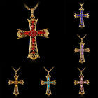 Charms Crystal Sparkly Cross x Fashion High Quality Necklace Pendant For Womens
