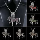 Fashion Pegasus Horse Pendant Charms Necklace Jewellery Chain Lady Party Costome