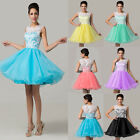 FREE SHIP Short Evening Gown Party Ball Prom Cocktail Bridesmaid Dresses Plus SZ