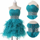 Short Mini Prom Ball Gowns Cocktail Party Evening Bridesmaids Masquerade Dresses