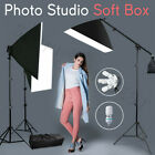 5 Head Photography Studio Softbox Lighting Soft Box Light Boom Arm Stand Kit Set