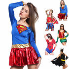 Cosplay costume Travestimento Carnevalesco Sexy Donna Superhero Spidergirl Bat