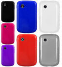For TracFone LG 306G TPU CANDY Gel Flexi Skin Phone Case Cover +Screen Protector