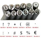 KENT 3.0mm Metal Punch Stamps Punctuation Marks Sold Individually