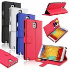 Luxury Leather Wallet Stand Case Flip Cover For Samsung Galaxy Note 3 III N9000