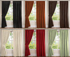 Faux Suede Soft Touch 200gsm Tape Top Ready Made Modern Heavy Weight Curtains