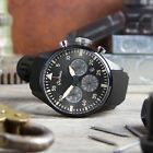 New Model Geckota K2 Quartz Miyota 6S20 Military Pilot Chronograph Chrono Watch