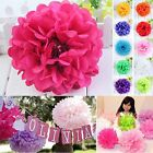 Various Sizes Colorful Tissue Paper Pom Poms Flower Balls Wedding Party Birthday