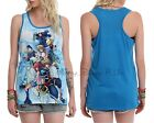 New Disney Kingdom Hearts Mickey Group Racer Back Tank Top Large S-2XL