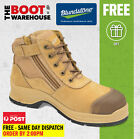 Blundstone Work Boots. 318. Zip-sider. Steel Cap Safety. Comfort Lining.  NEW!