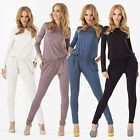 Women's Sexy Bodycon Slim Long Sleeve Clubwear Jumpsuit Dress Playsuit Rompers