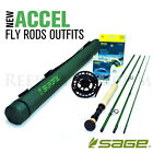 NEW - Sage Accel 8100-4 Fly Rod Outfit - FREE SHIPPING!