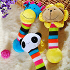 Pet Plush Squeaky Toy Dog Puppy Chew Sound Squeaker Soft Lion Panda Giraffe