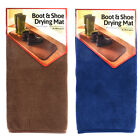 Absorbent and Machine Washable Boot and Shoe Drying Mat - Superb Quality New