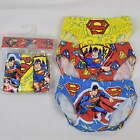 Superman Boys 3pk Pants Knickers Briefs 3 4 5 6 7 8 Years New UK STOCK
