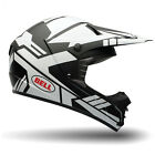 Bell 2015 Adults SX-1 Stack Motocross Enduro Offroad Helmet - Matte White