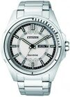 Citizen Eco-Drive 100m White Calendar Gents Sports Watch AW0030-55A