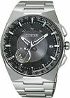 Citizen Eco-Drive F100 Satellite Wave Air GPS Sapphire Titanium Watch CC2006-53E