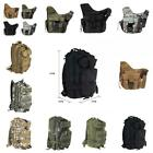 Outdoor Sports Molle Tactical Shoulder Strap Bag Pouch Backpack Camera Military