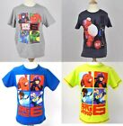 Big Hero 6 T-Shirt Boys 4 6 8 10 Years OFFICIAL NEW UK STOCK