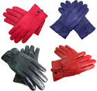 LADIES HIGH QUALITY SUPER SOFT LEATHER FULLY LINED GLOVES IN VARIOUS COLOURS