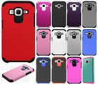 For Samsung Galaxy Prevail LTE HARD Astronoot Hybrid Silicone Case +Screen Guard