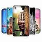 HEAD CASE DESIGNS BEST OF PLACES SET 3 HARD BACK CASE FOR APPLE iPHONE 3GS