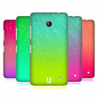 HEAD CASE DESIGNS NEON RAIN OMBRE HARD BACK CASE FOR NOKIA LUMIA 635