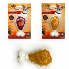 All For Paws BBQ dog toy chews - chicken or honey caramel flavour