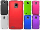 ZTE Rapido Z932C Rubberized HARD Protector Case Snap Phone Cover +Screen Guard