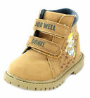 """BOY'S BOB THE BUILDER CAMEL BOOT WITH VELCRO FASTENER """"BOB BOOT"""""""