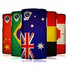 HEAD CASE DESIGNS VINTAGE FLAGS SET 1 HARD BACK CASE FOR LG GOOGLE NEXUS 5 D820
